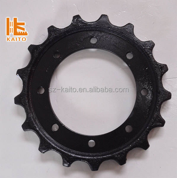 Sprockets wheel gear chain and sprocket for Wirtgen