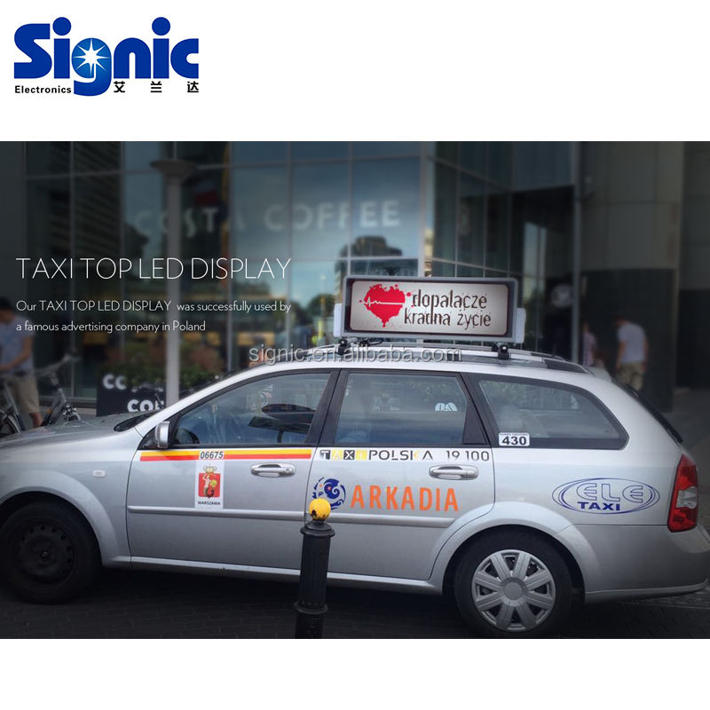 Mobiele Bestelwagens Draadloze Controle Taxi Reclame Trailer <span class=keywords><strong>Bus</strong></span> Dak Digitale Billboard Truck Auto Dak Borden <span class=keywords><strong>Bus</strong></span> Led Display
