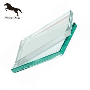 3.2-22mm Low Iron Solar Tempered Clear Float Glass