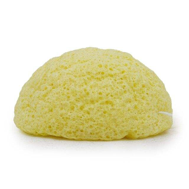 yellow lemon natural organic cleaning konjac sponge custom design