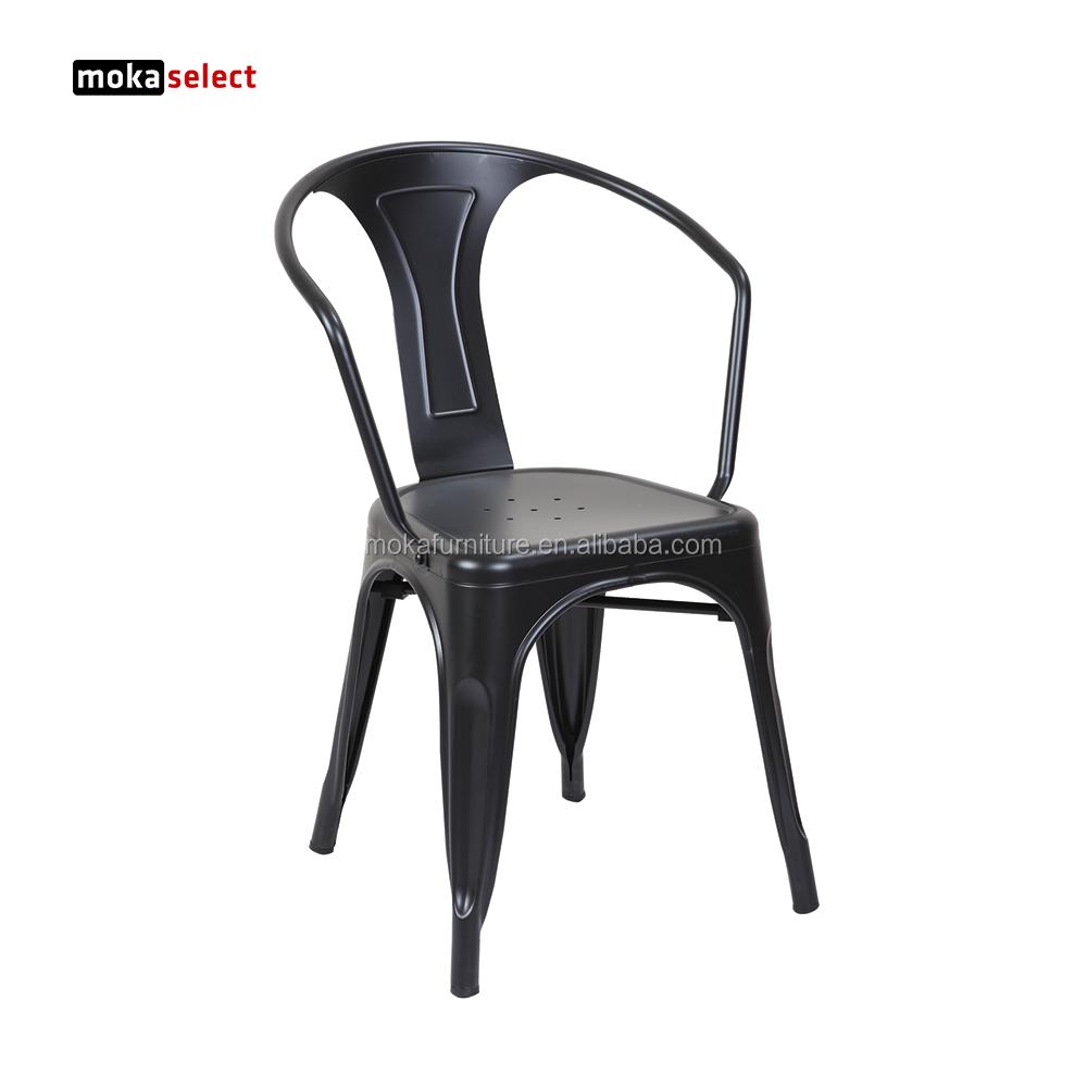金属カフェテーブルと椅子鉄ダイニングルームmarais椅子