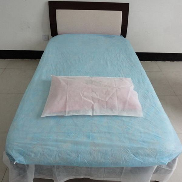 Hotel Consumables PP Nonwoven Bed Sheet Salon Massage Disposable Bed Cover