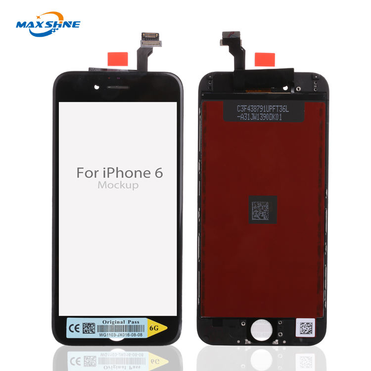 Free DHL AAA+++quality lcd display for iphone 6 screen for iphone 6 screen with replacement hot sale S