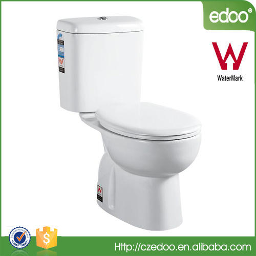 Singapore new design watermark certificate Washdown two piece toilet sanitary ware