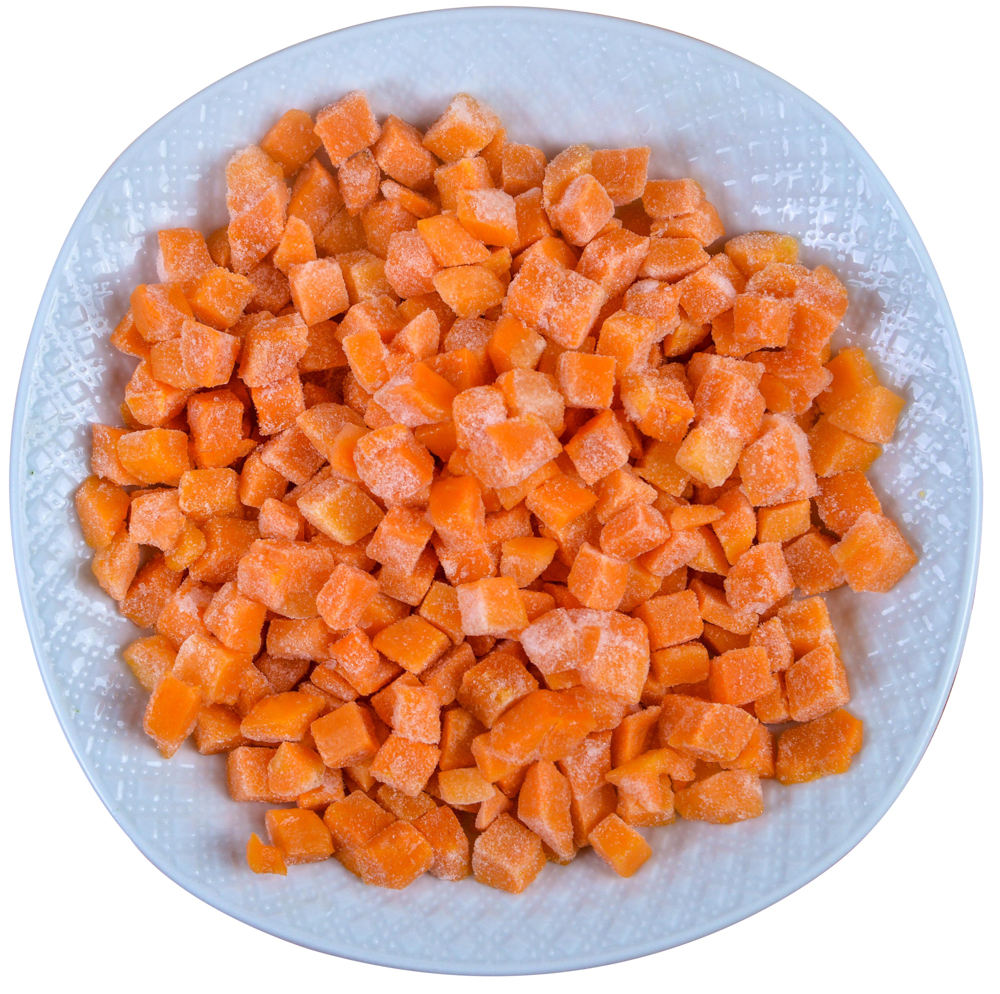 new fresh delicious vegetable IQF frozen carrot sliced
