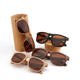OEM China wholesale factory wood glasses handmade custom skateboard polarized wood sunglasses