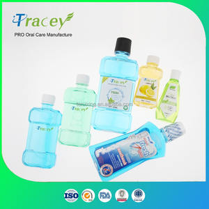 250ml / 500ml OEM PRIVATE BRAND FLUORIDE High Quality Cheap Mouth Wash
