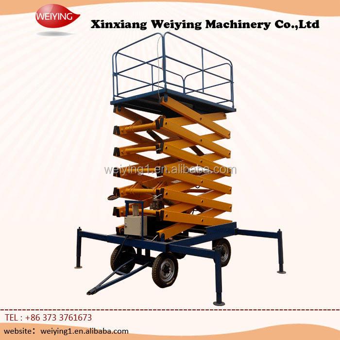 Remolque workig plataforma / hidráulica plataforma de trabajo / eléctrica plataforma de trabajo