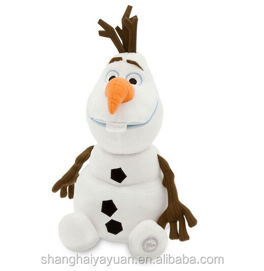 Hot Sale Frozen Customized Plush Soft Stuffed Toy Snowman Olaf Doll