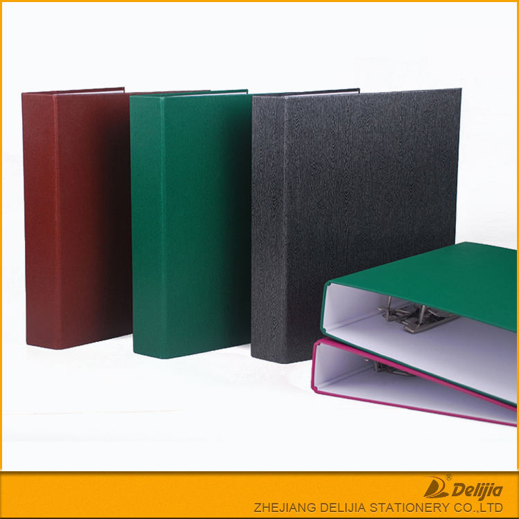 High quality OEM A5 A4 Customized plastic 3 Rings Binder