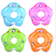 Safety Newborn Infant /Kids Swimming Neck Float Ring Bath Inflatable Circle Toy Baby Swimming Neck Ring