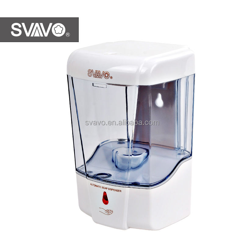 SVAVO best selling wall mounted touch free auto soap dispenser
