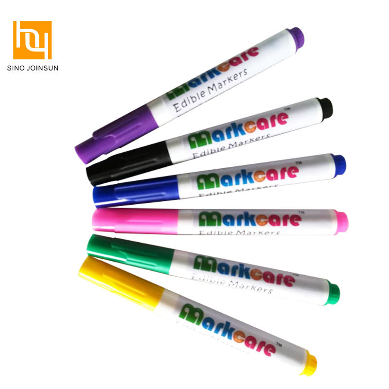 10 x Foodoodler Edible Ink Pens for Cake and Cookie Decorating Fineliners