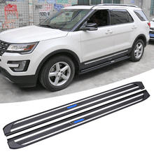 Special design 2015-2018 Explorer side foot plate running board used for ford nerf bar body kit