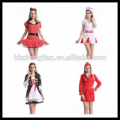 chine fournisseur de cosplay sexy déguisements halloween adulte costume de danse des femmes de beauté