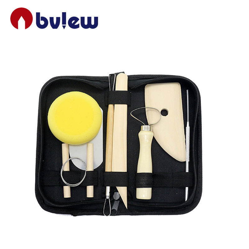 8 Piece Pottery Equipment Modelling Clay Tool Sets