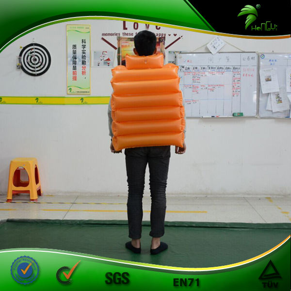 Custom Size Inflatable Buoy Life Jackie Factory Price Suit Shape Inflatables Outdoor Swimming Pool Life Vest Floating Ball