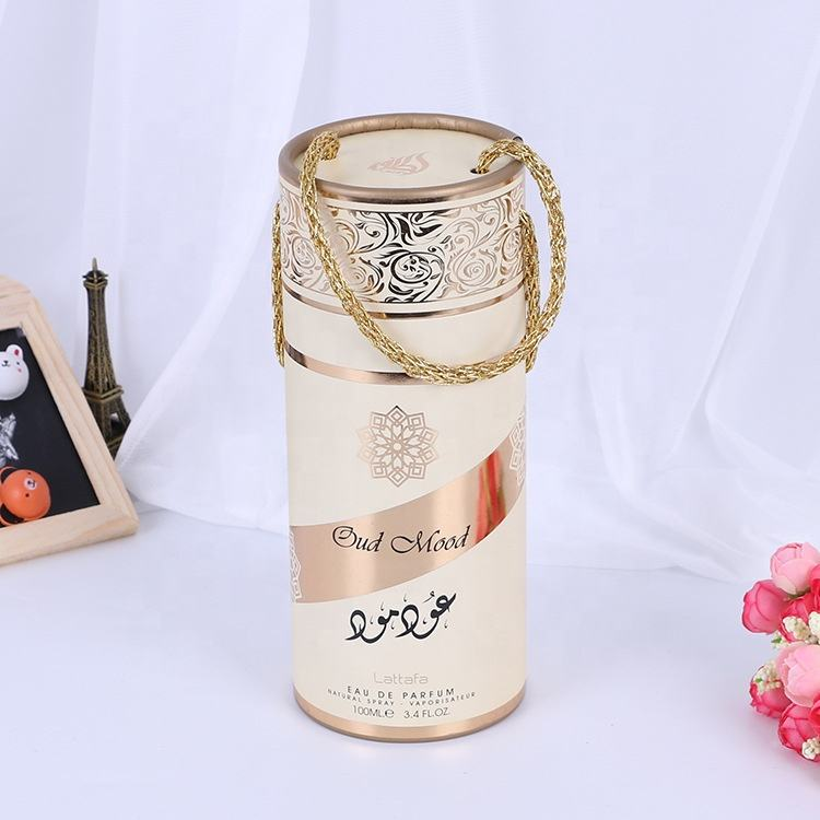 Creative Round kraft paper tube packaging wholesale for tea cardboard paper tube