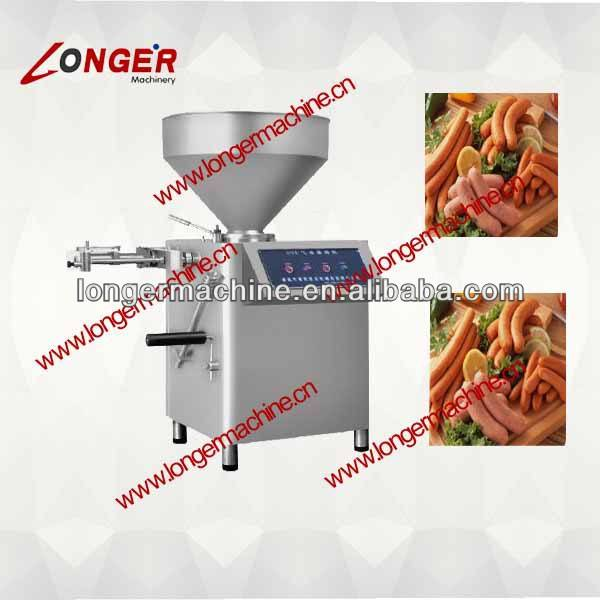Pneumatic Quantitative Sausage Filling Machine with Linkers