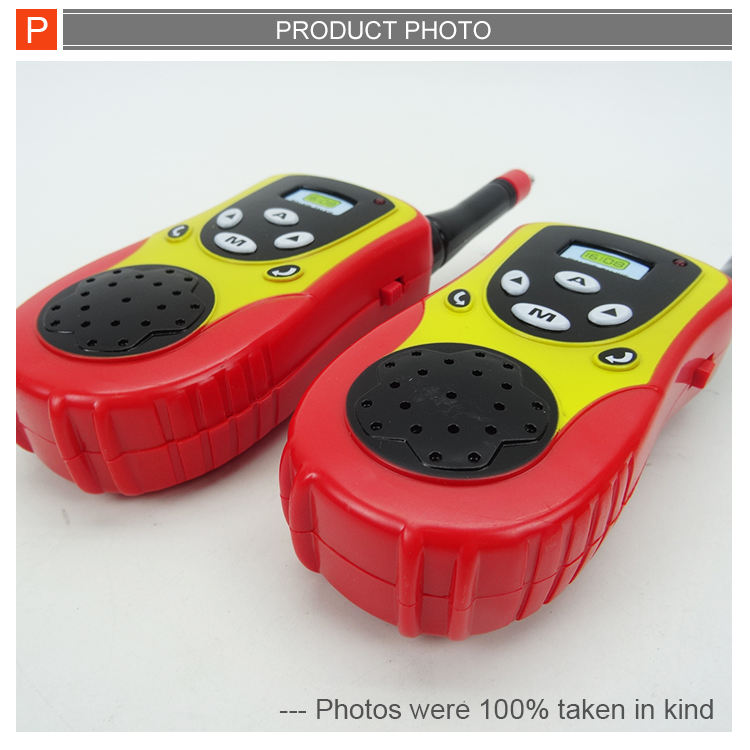Plastic Toy Hot Selling Plastic Kids Small Walkie Talkie Toy With CE