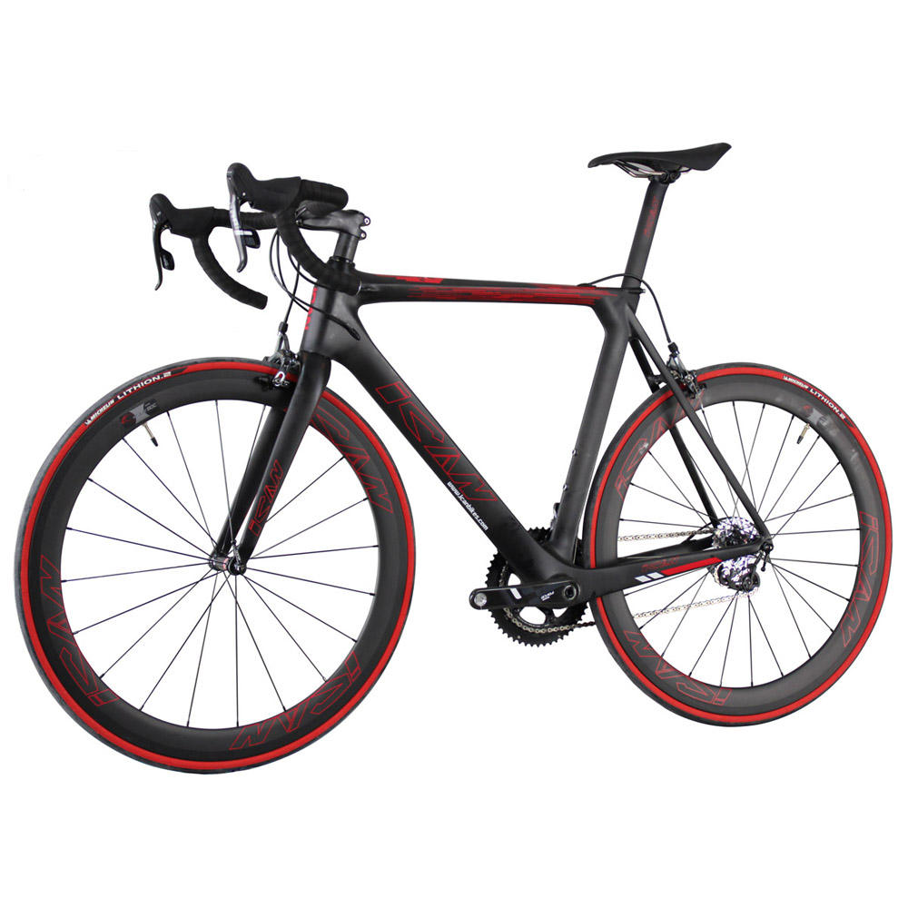 2020 super light customer painting 700x23c tires aero carbon road bike complete