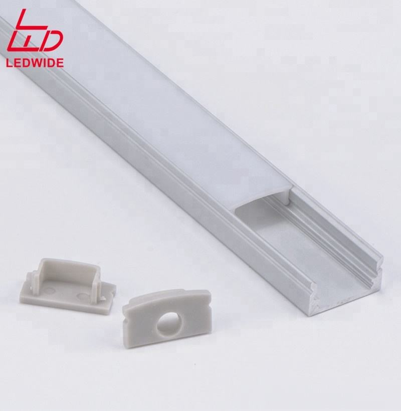 Surface Mounted Led Light Aluminium Profile For Led Strips Diffuser,Led Extruded Aluminium Channel