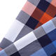 High quality check woven textile fabrics wholesale custom 100% cotton fabric for shirts