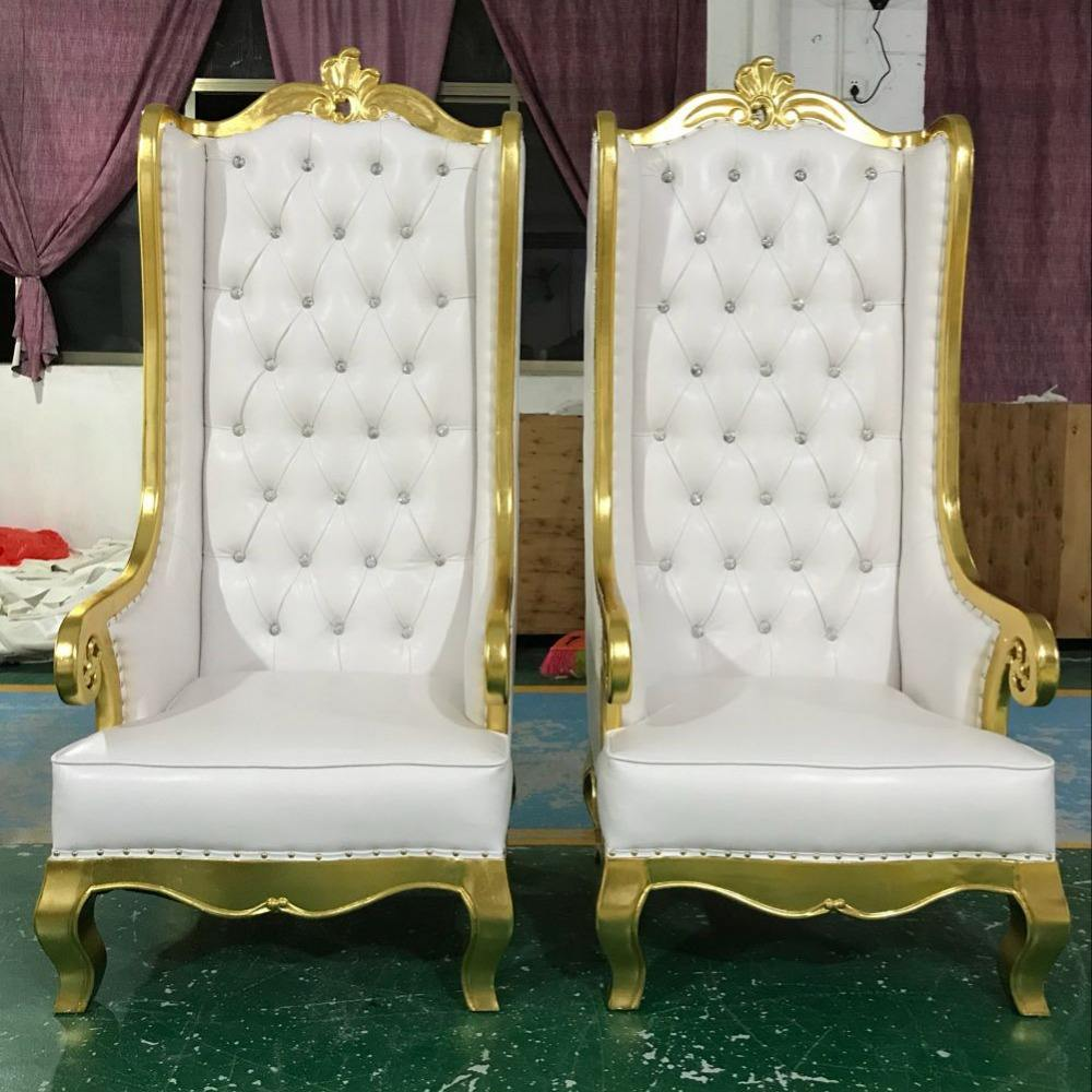 MMD11 cheap used antique royal manicure nail beauty salon spa pedicure set furniture golden wedding cheap king throne chair