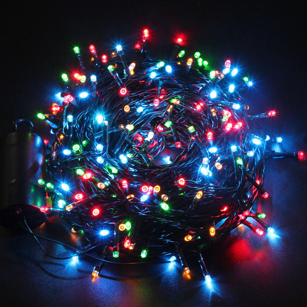 2018 hot sale 10m outdoor holiday decoration mini christmas tree led string light, led light string