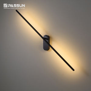 Simple modern adjustable wall mounted lights indoor flexible led decorative wall lamp