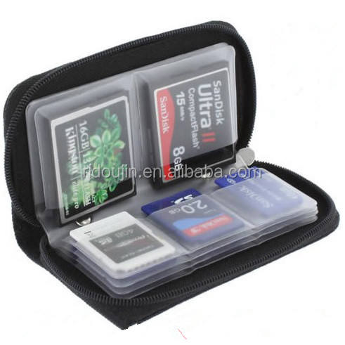 SD SF memory card bag Storage Carrying Pouch