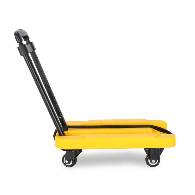 Carrying [ Trolley ] Cart Trolley Warehouse Cargo Luggage Carrying 4 Wheeled Cart Trolley