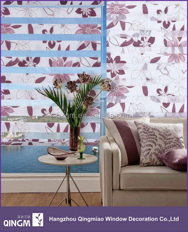 China Window Printed Fabric Blind,Shades Blind For Office