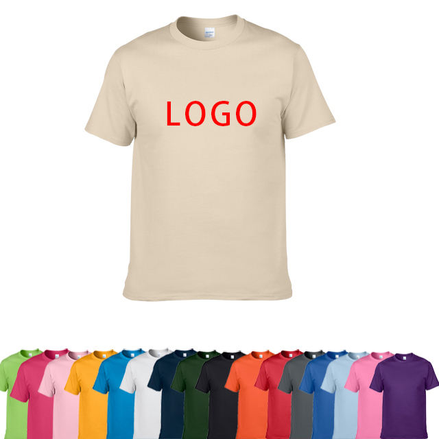 2020 Summer Custom Printing 100% Cotton T-Shirt Personalize Soft Blank T Shirt