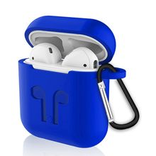 Portable best selling  6 in 1Wireless Earphone Silicone Case Set for Airpods