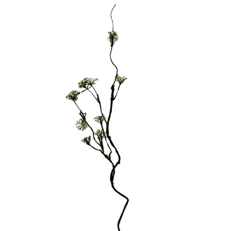 New fashion artificial dried vine branch for floral arrangement wedding party home garden decoration artificial moss vine