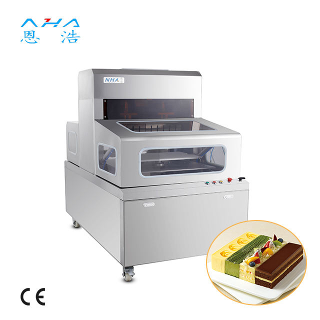 Ultrasonic cake cutting square cake chesse cutter machine