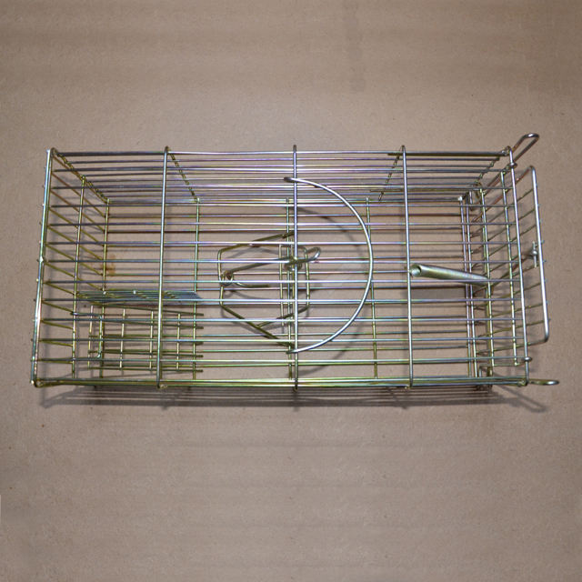 Iron Wire Metal Mouse Cage Trap Live Animal Cage Trap