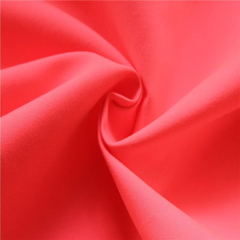 2019 high quality micro fiber fabric wholesale polyester twill 75D*150D/288F fabric
