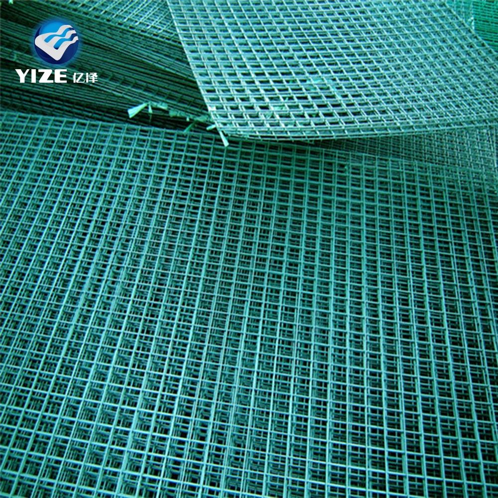 China manufacture welded wire mesh/green vinyl coated welded wire mesh fence