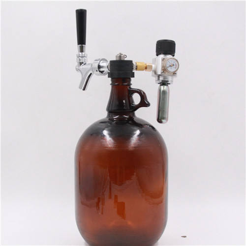 Craft Beer Dispenser for glass Growlers