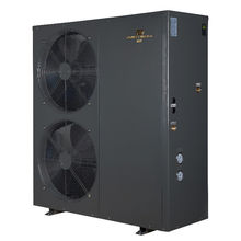 Monobloc low temperature heat pump evi dc inverter air source heat pump for hot water heating cooling