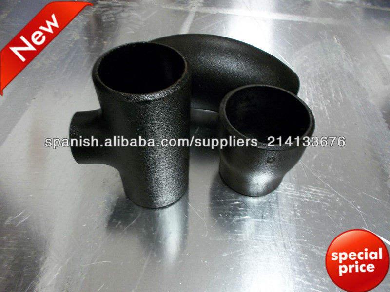 Accesorios para tuberías de acero inoxidable SA-234-WPB - ASME B16.9