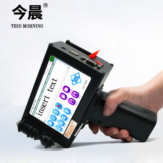 2018 Factory Direct Supply Automatic Inkjet date coder handheld printer stamp making machine inkjet printer