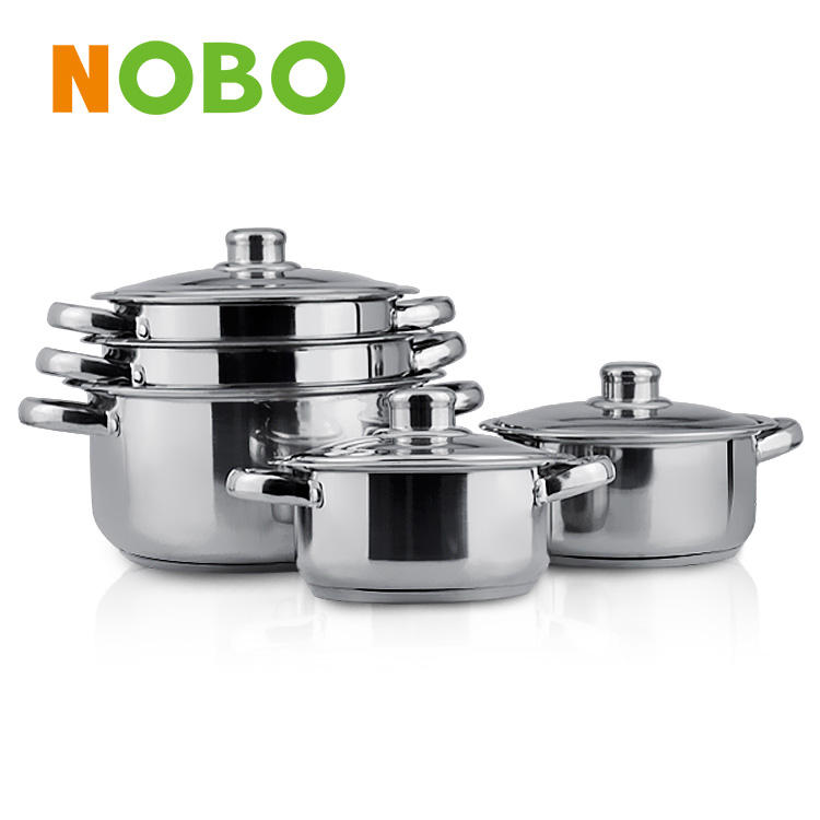 Cookware sets real stainless china kitchen accessories cookware