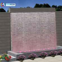 Free Design ODM Outdoor Marble Garden Pool Wall Waterfall