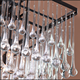 decorative chandelier crystal glass teardrops raindrops drops for ornament