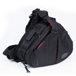 Fashion Caden Dslr Camera Bags Waterproof Sling Bag Men With Raincover