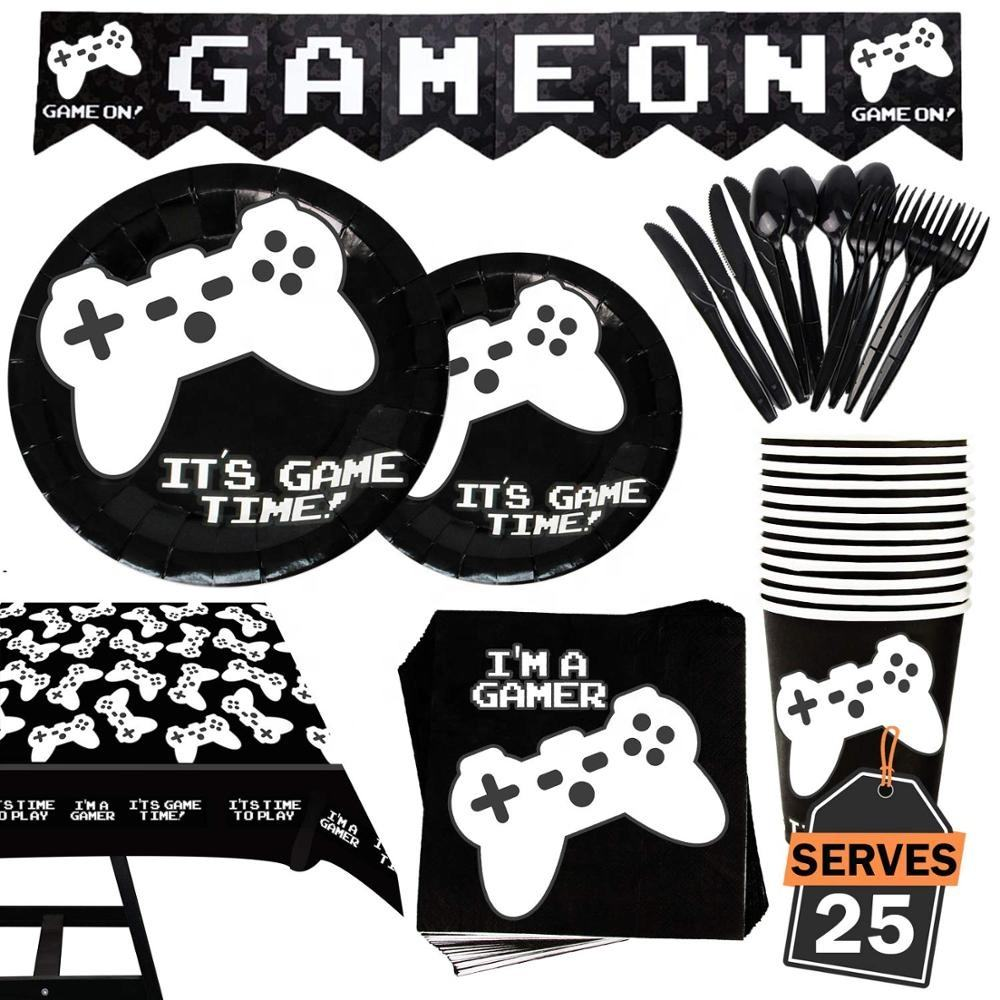 Gaming Controller Gamer Personalised Stickers 24 x 45mm Birthday Party Gift 47