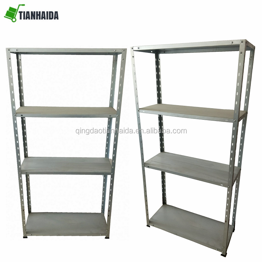 Garage Shelf Steel Metal Storage 4 Level Adjustable Shelves Unit galvanized steel library shelves